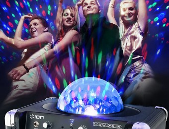 $60 off ION Party Rocker Bluetooth Speaker System w/ Light Show