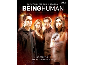 $16 off Being Human: The Complete Third Season Blu-ray