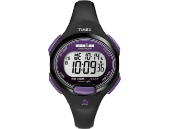$16 off Timex Ironman 10-Lap Watch, 3 Styles