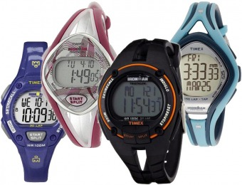 58% off Timex Ironman Sports Watches - 4 Choices