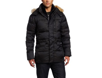 $285 off Marc NY Andrew Marc Men's Mid-Length Down Jacket