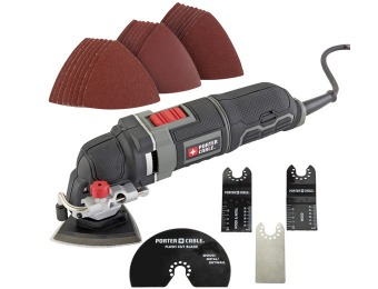 $133 off Porter Cable PCE605K Oscillating Multi-Tool Kit