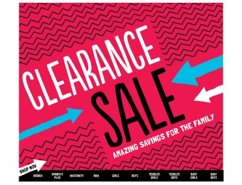 Extra 20% off Old Navy Clearance Items