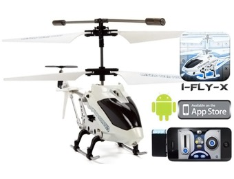 75% off Gyro iFly Heli RC Helicopter, iPhone / Android Control