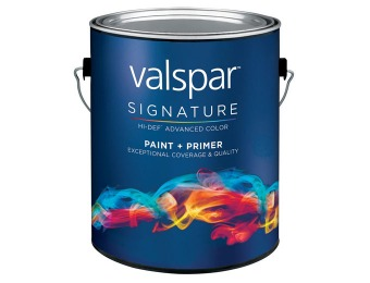 $5 off Gallon Size or $20 off 5-Gallon Size Valspar paint at Lowes