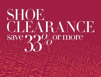 Nordstrom Shoe Clearance Sale - Save 33% or more!