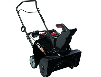 "$191 off Sno-Tek 22"" Single-Stage Electric Start Gas Snow Blower"