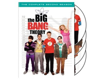 67% off The Big Bang Theory: The Complete Second Season DVD
