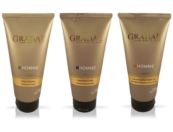 $180 off GRATiAE Organic Beauty by Nature Men's Grooming Set