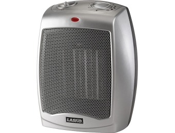 48% off Lasko 754200 Ceramic Heater w/ Adjustable Thermostat