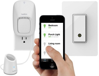 Up to 33% off Belkin WeMo Home Automation Products