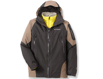 49% off Columbia Glacier to Glade 3-in-1 Insulated Men's Jacket