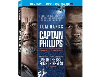 88% off Captain Phillips (Two Disc Blu-ray / DVD Combo)