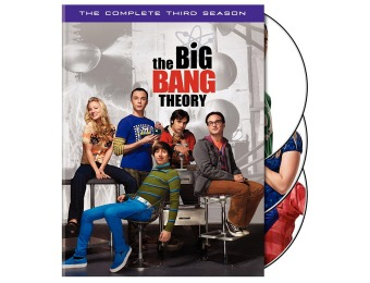 67% off The Big Bang Theory: The Complete Third Season DVD