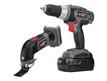 39% off Porter-Cable PCCK402N2 18-Volt Cordless Combo Kit