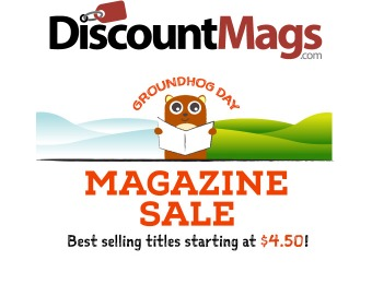 Magazine Sale - Subscriptions from $4.50, 60+ Titles