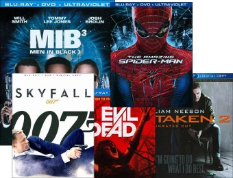Hit Blu-ray Movies for $4.99 Each (Up to 86% off) 124 Selections