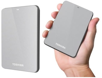 $55 Off Toshiba Canvio 1TB USB 3.0 External Hard Drive