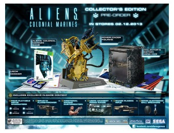90% off Aliens Colonial Marines Collector's Edition - Xbox 360
