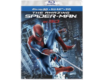 71% off The Amazing Spider-Man Four-Disc Blu-ray 3D Combo