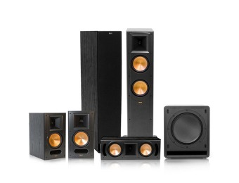19% off Klipsch RF-62 II Reference Series 5.1 Home Theater System