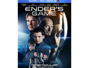 50% off Ender's Game Blu-ray + DVD Combo