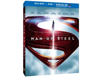 64% off Man of Steel (Blu-ray + DVD + Digital HD with UltraViolet)