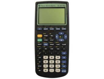 47% off Texas Instruments TI-83 Plus Graphing Calculator
