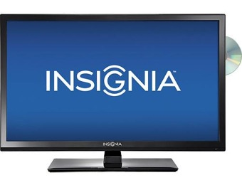 "$50 off Insignia NS-28ED200NA14 28"" LED HDTV / DVD Player Combo"