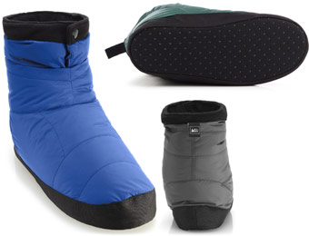 46% Off REI Men's Down Booties Several Colors Available