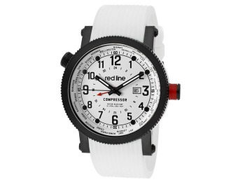 92% off Red Line Compressor World Time Men's Watch