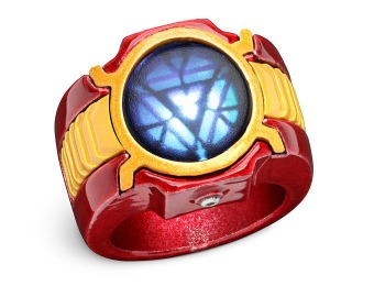 80% off Marvel Iron Man 3 LED Arc Reactor Ring