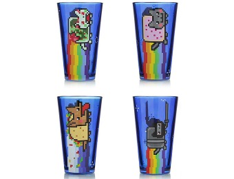 67% off Nyan Cat Pint Glass Set