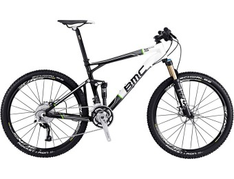 60% off BMC Fourstroke FS02 XT-SLX Mountain Bike - 2012