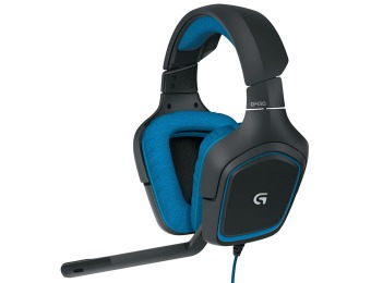 66% off Logitech G430 Surround Sound Gaming Headset