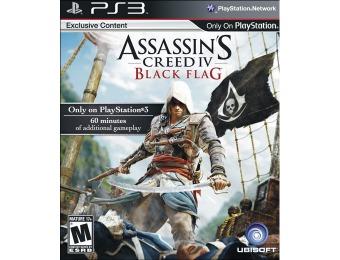 50% off Assassin's Creed IV Black Flag - Playstation 3