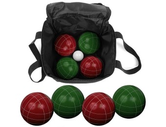 38% off Trademark Games 9-Piece Bocce Ball Set with Nylon Case