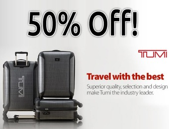 50% off Tumi Luggage, 28 Choices