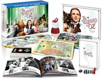 $50 off Wizard of Oz: 75th Anniv Collector's Edition Blu-ray 3D ...