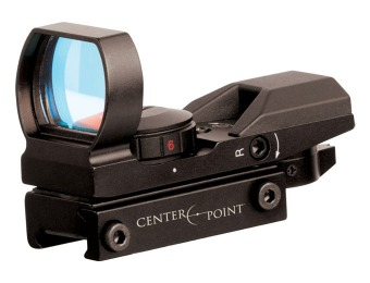72% off Center Point Tactical Open Reflex Sight