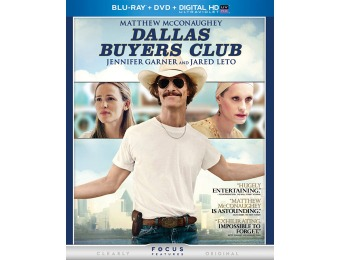 60% off Dallas Buyers Club (Blu-ray + DVD Combo)