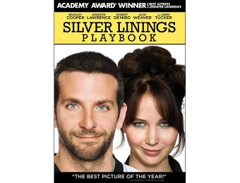 80% off Silver Linings Playbook DVD