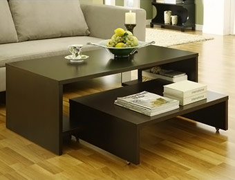 37% off 2-in-1 Transitional Coffee Table
