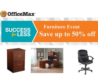 OfficeMax Furniture Sale Event - Up to 50% off