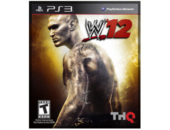 58% Off THQ WWE '12 PS3 Video Game