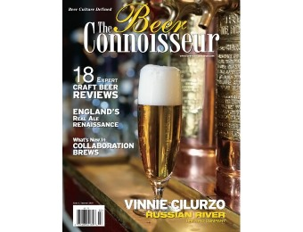 58% off The Beer Connoisseur Magazine, $9.99 / 4 Issues