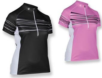 $55 Off Women's Cannondale Frequency Bike Jersey, 2 Colors