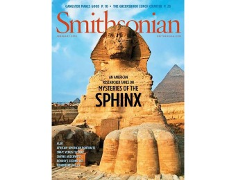 81% off Smithsonian Magazine Subscription, $8.99 / 11 Issues