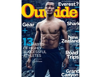 89% off Outside Magazine Subscription, $4.99 / 12 Issues