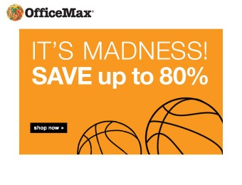 Office Max March Madnesss Sale - Up to 80% off